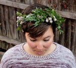 Brunia with Boxwood Crown