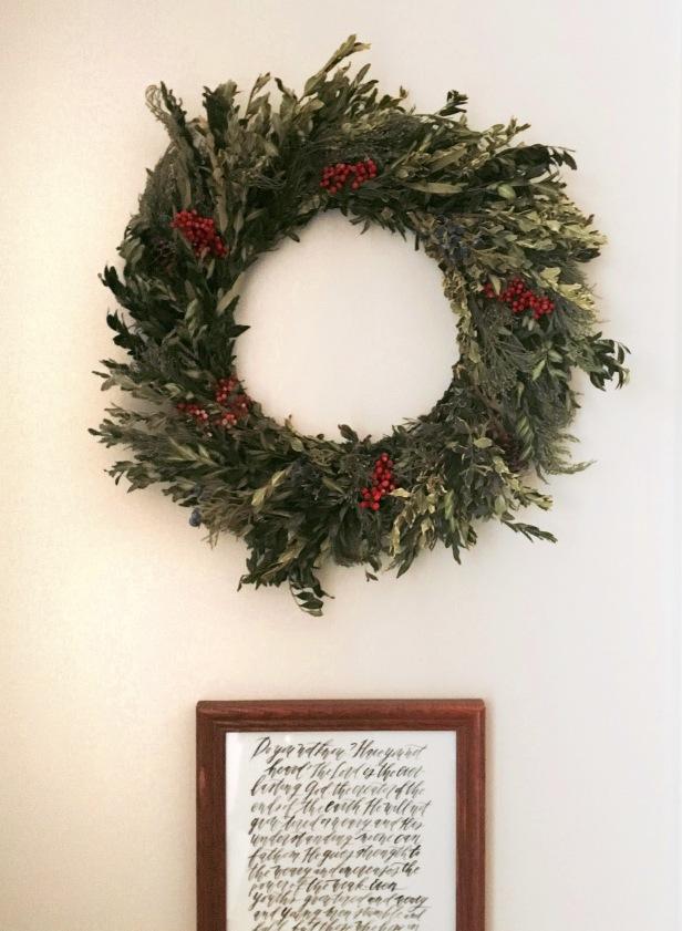 K's Wreath [Photo courtesy of K]